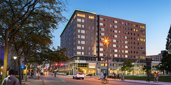 Cleveland State University student housing ground improvement