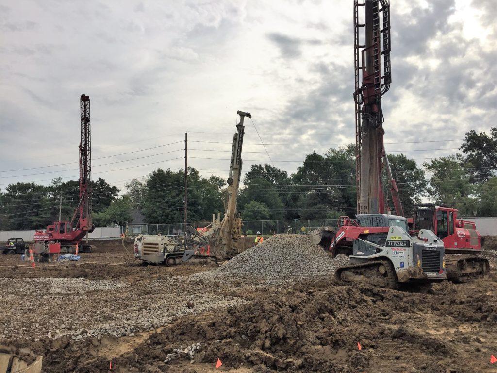 Ground improvement for Edge at Danforth Plant Science Center